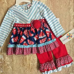 NWT Counting Daisies Set
